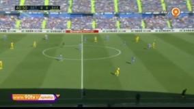 خلاصه لالیگا: ختافه 0-2 بارسلونا