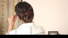 فیلم آموزش سه مدل بستن مو با بافت و پیچش مو