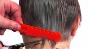 کلیپ آموزش کوتاه کردن اسپرت مو + مدل مو دخترانه