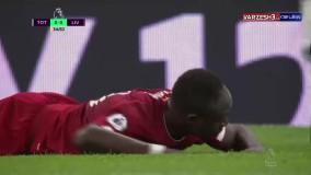خلاصه بازی تاتنهام 0 - لیورپول 1