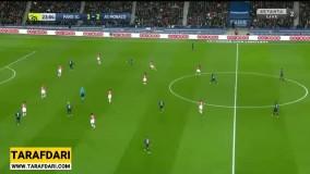 خلاصه بازی پاری سن ژرمن 3-3 موناکو (لیگ یک فرانسه - 2019/20)