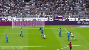 بهترین گل های بازی PES 2020
