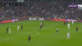 خلاصه بازی رئال مادرید 2-1 سویا