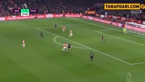 خلاصه بازی آرسنال 2-0 منچستریونایتد (لیگ برتر انگلیس 2019/20)