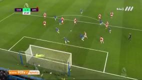 خلاصه لیگ برتر انگلیس: چلسی 2-2 آرسنال