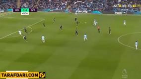 خلاصه بازی منچسترسیتی 2-1 اورتون (لیگ برتر انگلیس 2019/20)