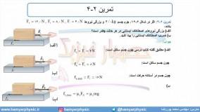 جلسه 93 فیزیک دوازدهم - نیروی اصطکاک 4 - مدرس محمد پوررضا