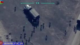 تصاویر جدید جمهوری آذربایجان از لحظه هدف قرار دادن دهها سرباز ارمنستانی