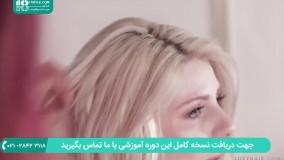 مراحل نصب اکستنشن مو چسبی بلند برای موهای کوتاه