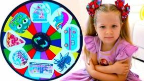 دیانا و روما ؛  گردونه شانس با اسباب بازی های جدید برای دیانا و روما