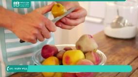 ترشی خانگی | طرز تهیه ترشی مخلوط چغندر و کلم