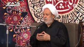 شیخ حسین انصاریان  با کپسول اکسیژن ، به منبر رفت.