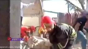 ۳ کشته در انفجار گاز بازارچه عامری اهواز