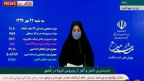 آخرین آمار کرونا: قربانیان کرونا در ایران از ۲۹ هزار نفر فراتر رفت