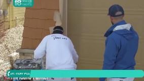 روش اسپری کردن رنگ بر روی درب چوبی با استفاده از پیسوله