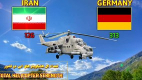 مقایسه قدرت نظامی آلمان و ایران