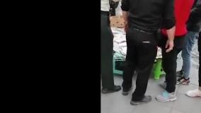 ماجرای جنجال زن دستفروش در چهار راه طالقانی کرج