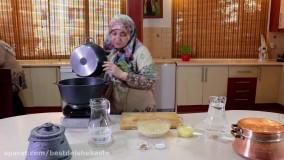 آموزش پخت حلیم آسان   حلیم با گوشت