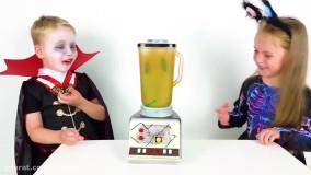 گبی و الکس  ؛  اسباب بازی های جشن هالووین
