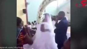 مچ گیری از داماد زن و بچه دار قبل از بله گفتن عروس خانم در عقد