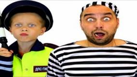 دامیک و بابایی ؛  دامیک پلیس به دنبال دزد - ماجراهای دامیک