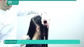 آموزش کامل مدل موی زیبا برای کوتاهی موی زنانه