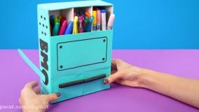 کاردستی های جالب برای کودکان از کاغذ و نقاشی
