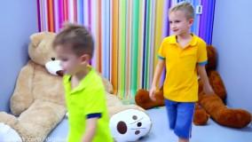 ولاد و نیکیتا ؛  بازی های هیجان انگیز در موزه کودکان