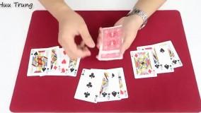 4 ترفند شعبده بازی بسیار راحت و هیجان انگیز