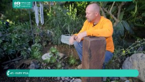 روش ساخت و نصب آبنما سنگی در حیاط منزل