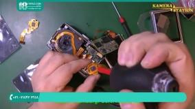 نحوه تعویض تراشه ورودی کارت حافظه دوربین عکاسی کامپکت