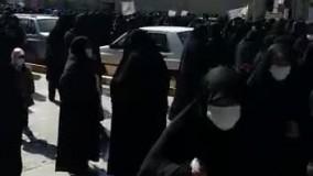 راه پیمایی اعتراضی به کشف حجاب در نجف آباد (2)