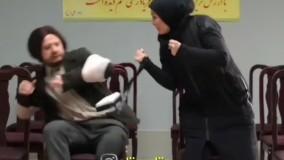 حمله سحر قریشی به علی صادقی