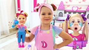 دیانا و روما جدید ؛ بازی دیانا و روما : عروسک های جدید دیانا