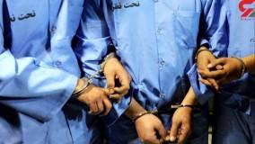 فیلم گفتگو با دزدان جنایتکار طلافروشی تبریز