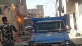 فیلم آتش سوزی علمک گاز