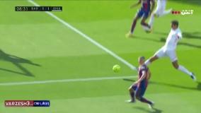 گل اول بارسلونا به رئال توسط آنسو فاتی