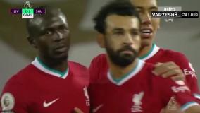 خلاصه بازی لیورپول 2 - شفیلدیونایتد 1