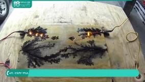 نحوه کار با ابزار سوخته نگاری برروی چوب ( لیختنبرگ )