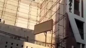 آتش سوزی در پاساژ کادوس ۴ آبادان