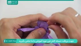 طریقه ساخت اوریگامی عروس و داماد به صورت گام به گام