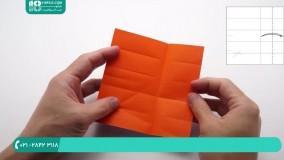 ساخت اوریگامی مکعب کاغذی متحرک سرگرم کننده