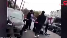 کشتن یک جوان ۲۷ ساله مقابل چشمان همسرش توسط پلیس آمریکا
