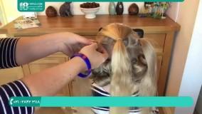 آموزش خوشگلترین بافت مو برای دختر بچه ها