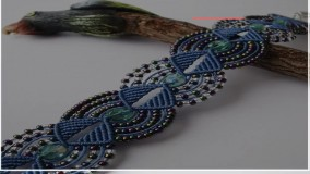 آموزش انواع بافت دستبند مکرومه مخصوص مراسم عروسی