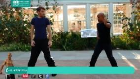 دفاع شخصی   تمرینات جودو   نحوه دفاع شخصی در برابر فرد صلاح به دست