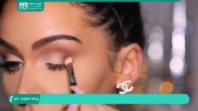 گریم صورت   آموزش آرایش چهره به صورت حرفه ای