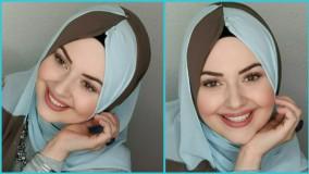ایده های بستن شال روسری