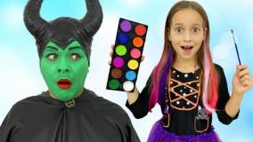 سوفیا و بابایی ؛ ماسک جادویی سوفیا برای بابایی