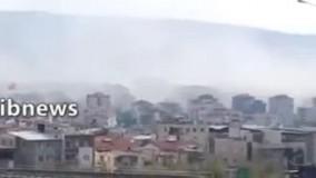 تصاویری از زلزله ۶.۶ریشتری در ترکیه